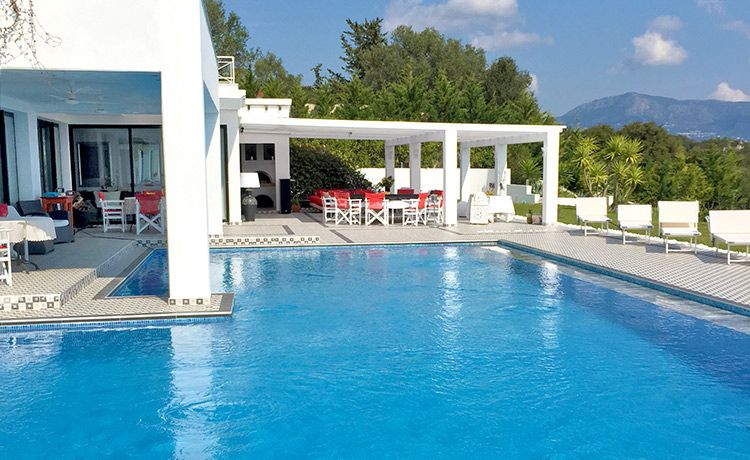 Corfu Swimming Pools Corfu Property