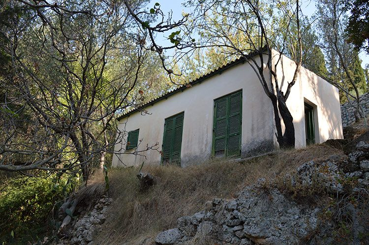 One of the guest houses