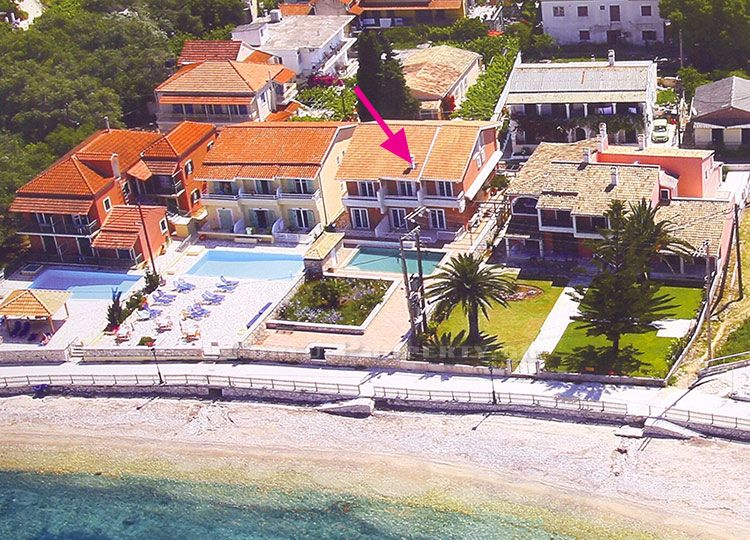 For sale apartments on beach of Kassiopi, Corfu