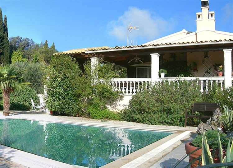 For Sale luxury villa with seaview on Corfu, Greece