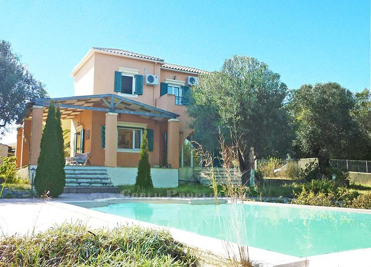 For sale house with pool at Korakiana, Corfu