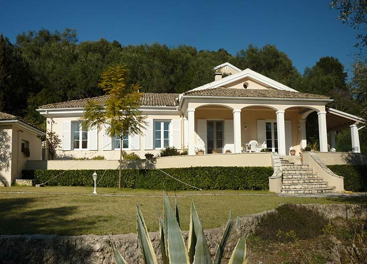 Mediterranean style Villa for sale Central Corfu