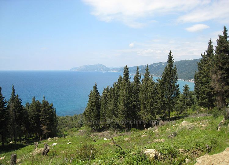 For sale land near Agios Gordis, Corfu