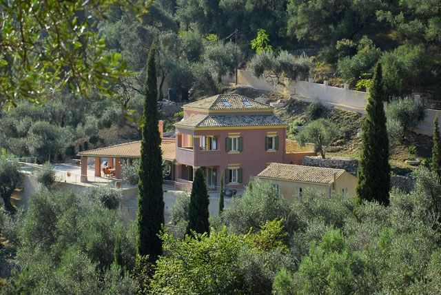 Villa for rent at Agni Corfu