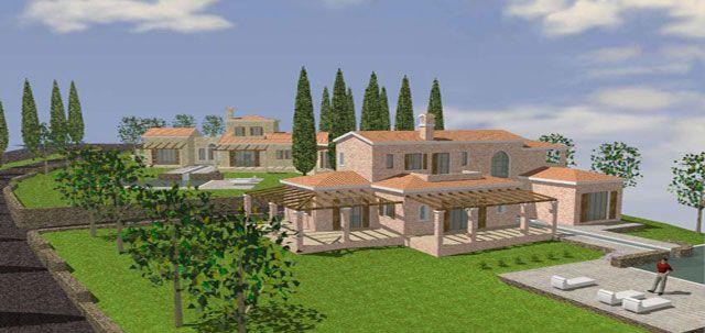 Villa at Kommeno Bay