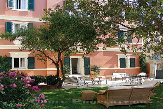 Boutique Hotel in Center of Corfu Town