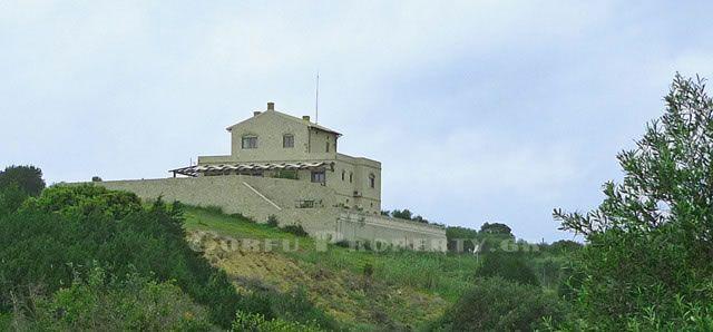 For sale stone villa with pool near sea Halikouna, Corfu