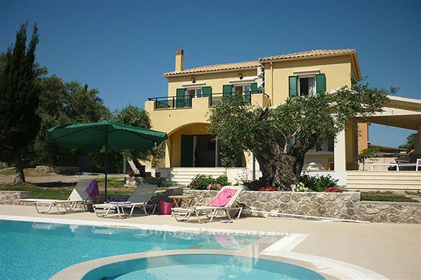 Family Friendly Holiday Home for Rent near Dasia, Corfu