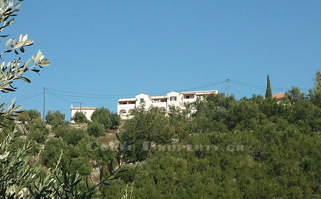 For Sale small apartment complex at Loustri, above Yaliskari, Corfu