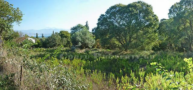 Land for sale near Kassiopi, Corfu