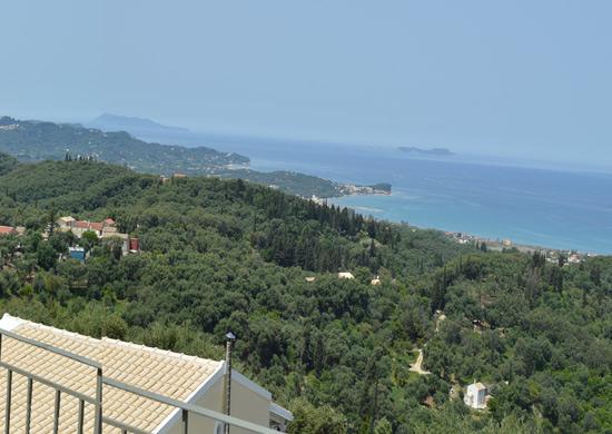 House with sea view North Corfu