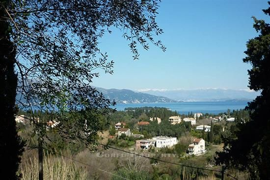 Land for sale with building license at Evropouli, Corfu