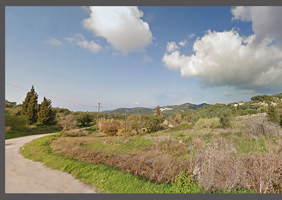 For Sale Land at Kavadades, near to Arilla, North West Corfu