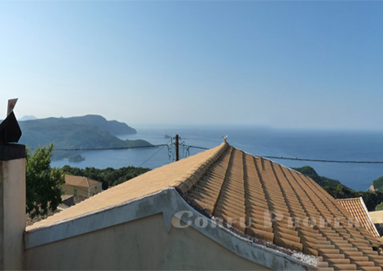 renovated house for sale in Lakones Corfu