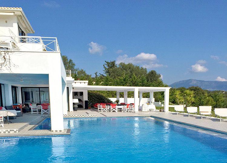 Luxurious villa near Corfu Town