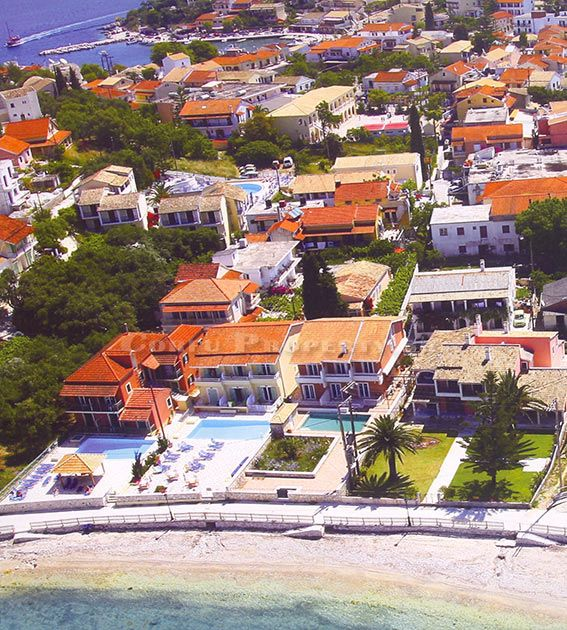 Nearby Apartment Complexes: For Sale Apartment Complex On The Beach Of Kassiopi, North