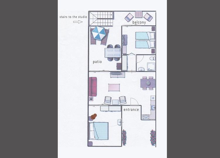 floor plan apartment