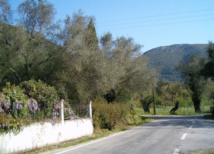 Land for sale Ano Korakiana Corfu