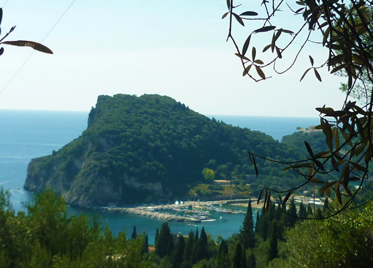 Land for sale with sea view Paleiokastritsa Corfu