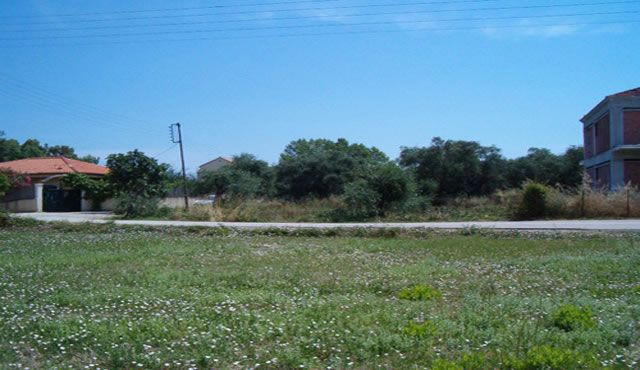 Land for sale close to the beach of Acharavi, Corfu